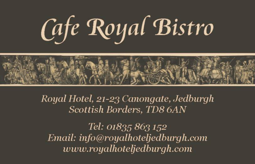 Cafe Royal Bistro business card