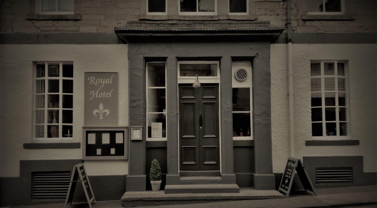 Royal Hotel Jedburgh frontage
