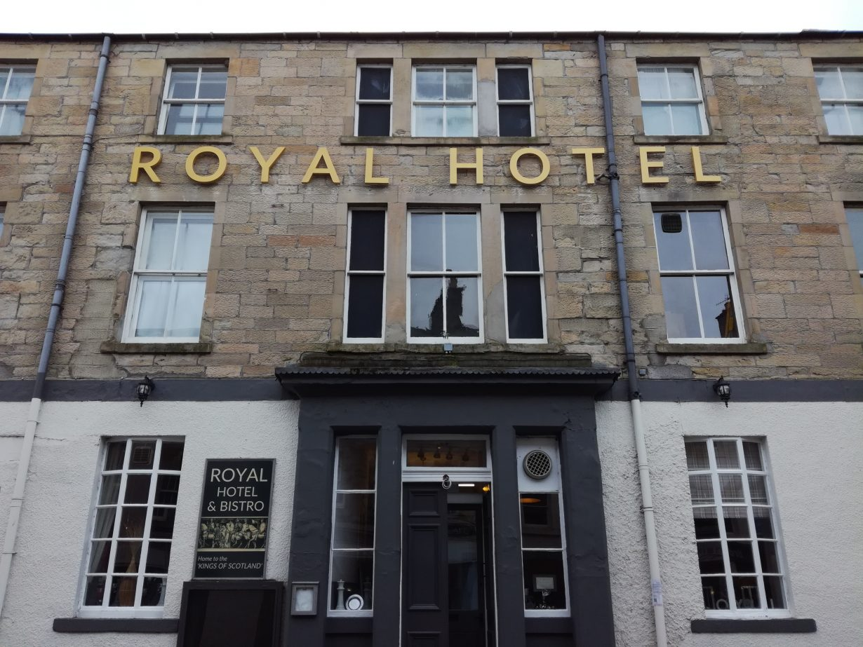 Royal Hotel frontage